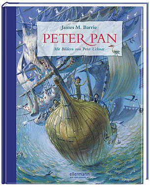 James M. Barrie / Peter Uchnar: Peter Pan, Ellermann Verlag
