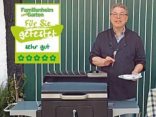Landmann Holzkohlegrillwagen Dorado Schwarz : Pellets zum grillen? oh ja mai 2016 familienheim und garten