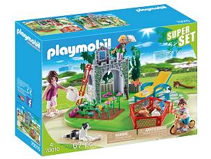 SuperSets Familiengarten von PLAYMOBIL®