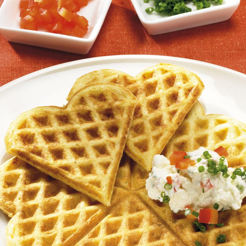 Www Sanella De Rezepte: Bild: Kartoffel-Pastinaken-Waffeln: 1 TL Getrockenter