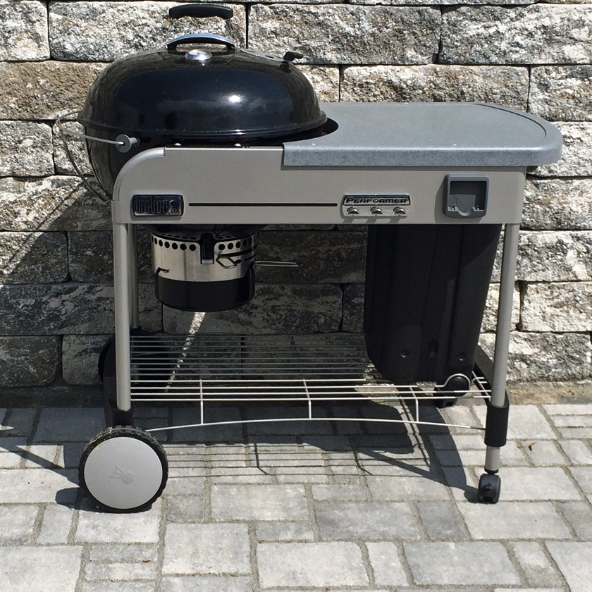 weber grill performer weber performer platinum charcoal. Black Bedroom Furniture Sets. Home Design Ideas
