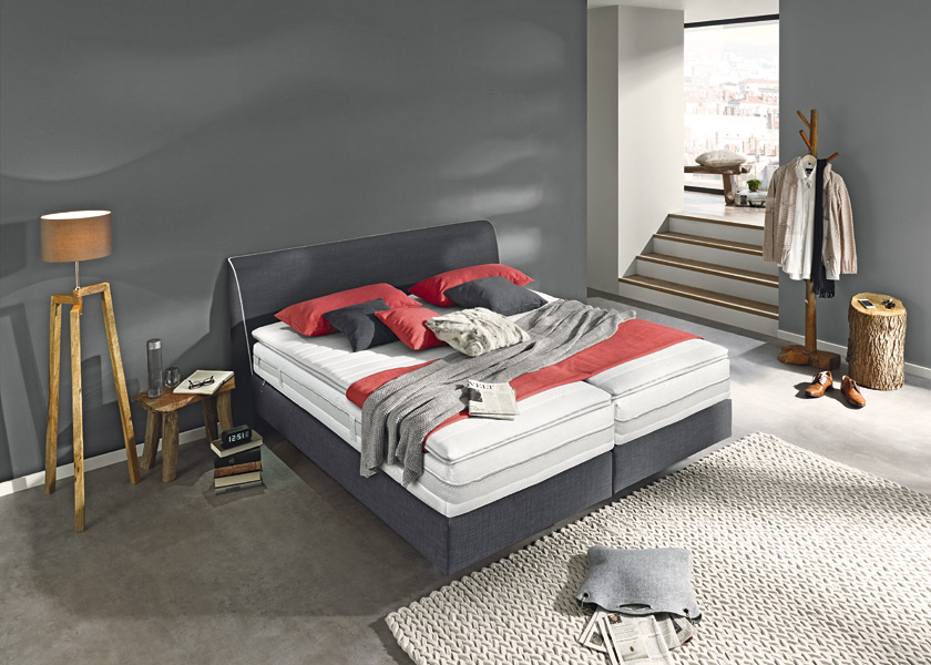 bild musterring boxspringbett evolution select seite familienheim und garten. Black Bedroom Furniture Sets. Home Design Ideas