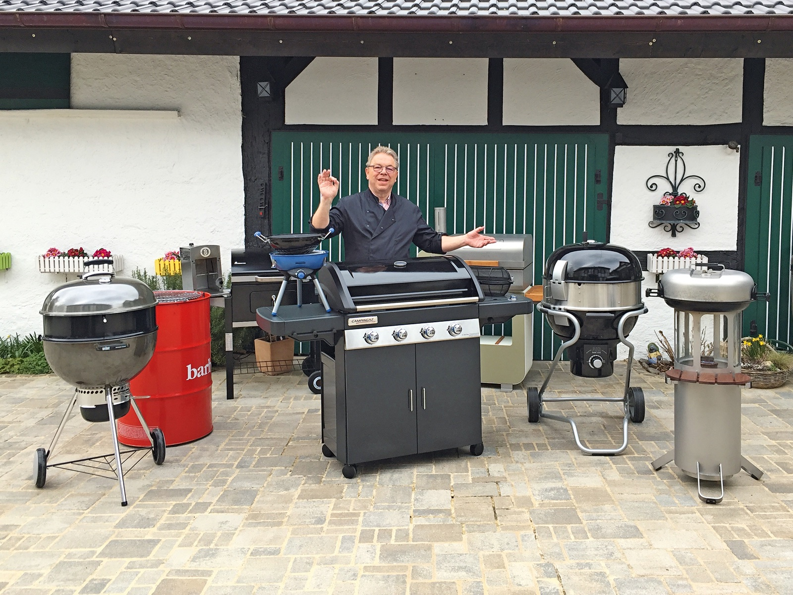 Rösle Gasgrill Jubiläum : Fug grill check 2016 altbewährtes und innovativ neues mai 2016