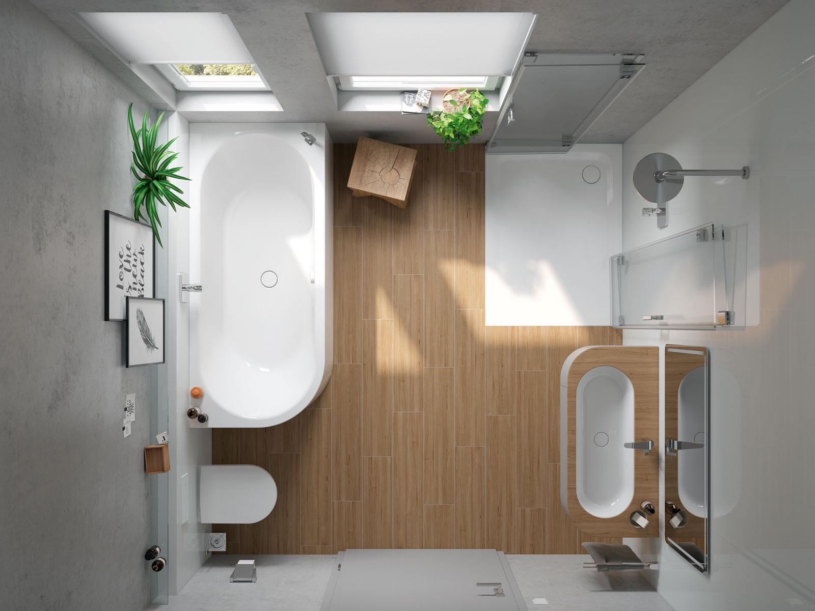 losungen fur kleine bader. Black Bedroom Furniture Sets. Home Design Ideas